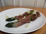 Recette : asperges vertes roulées au jambon de Parme