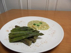 Asperges sauce mimosa