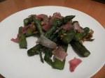 asperges vertes au Parmesan